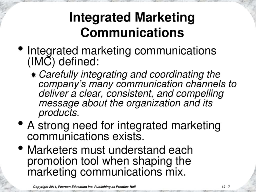 Introduction to Marketing Communications