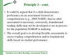 principle 3 cont