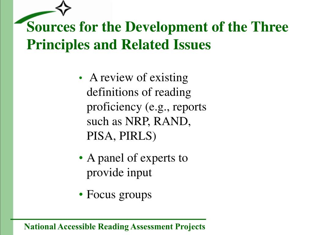 Sources for the Development of the Three Principles and Related Issues