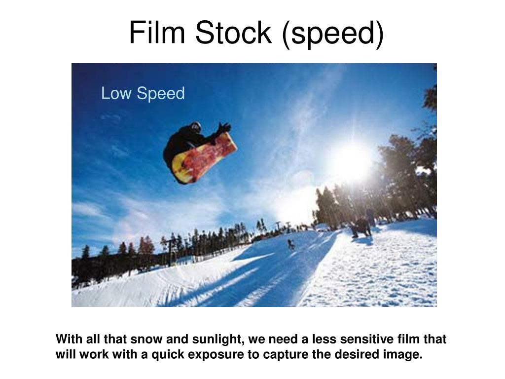 Film Stock (speed)