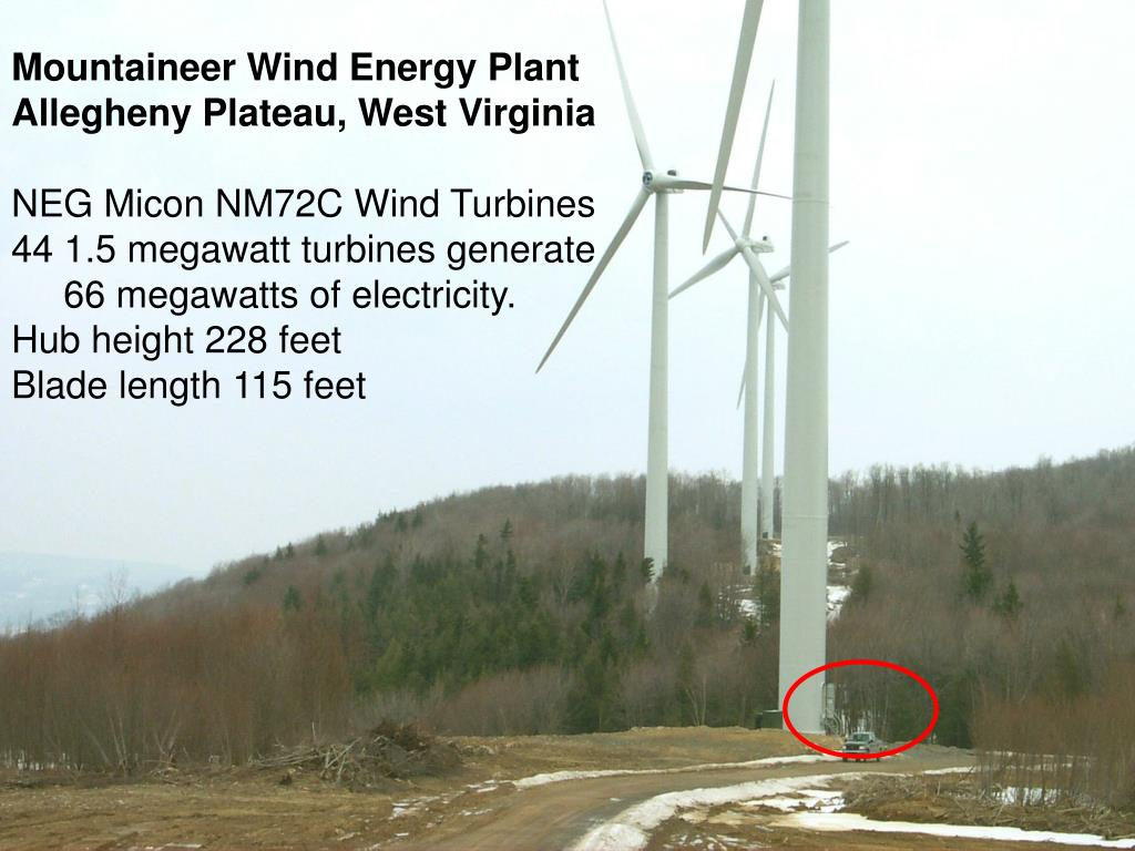 Mountaineer Wind Energy Plant