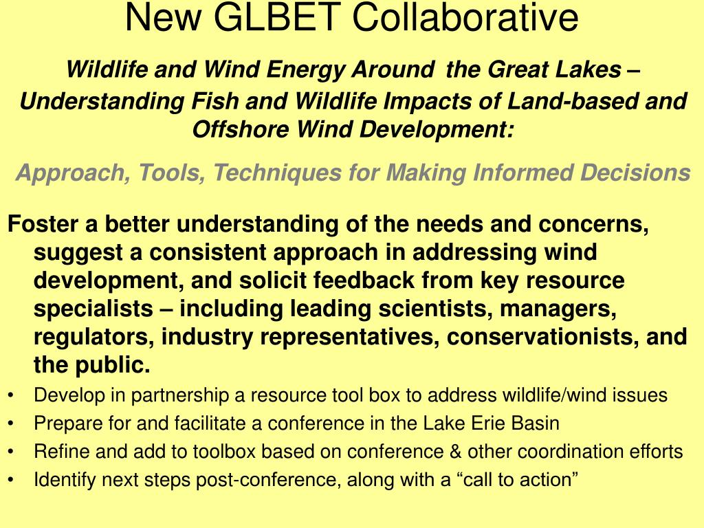 New GLBET Collaborative