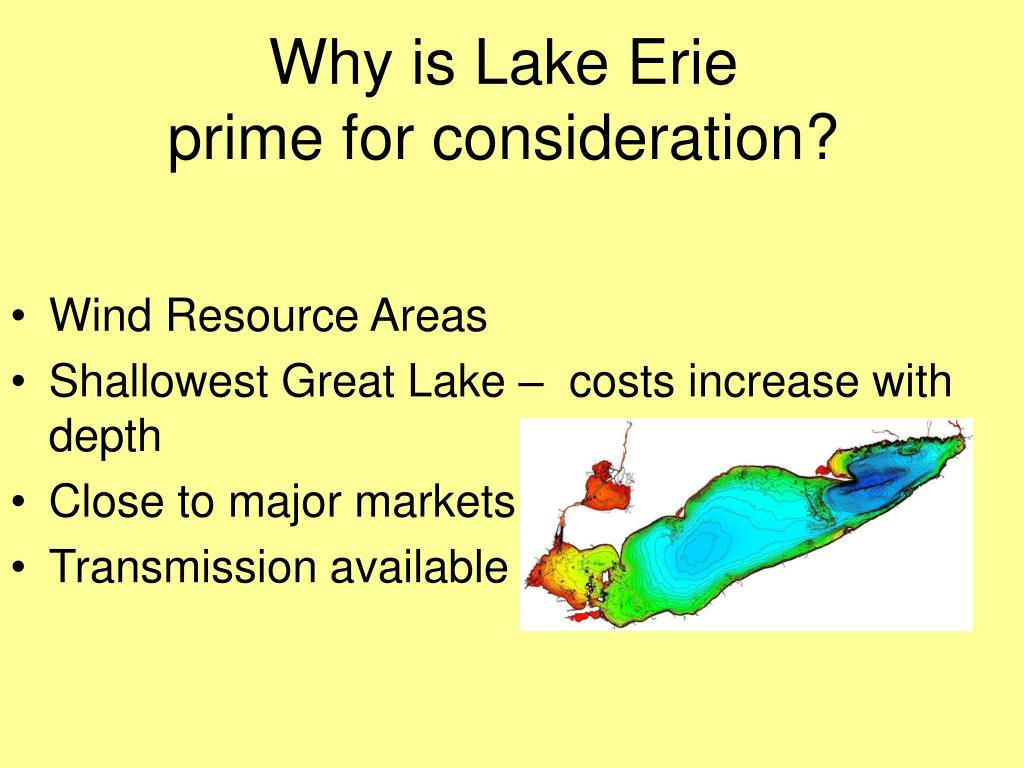 Why is Lake Erie
