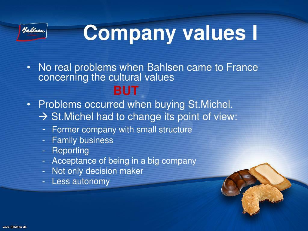 Company values I