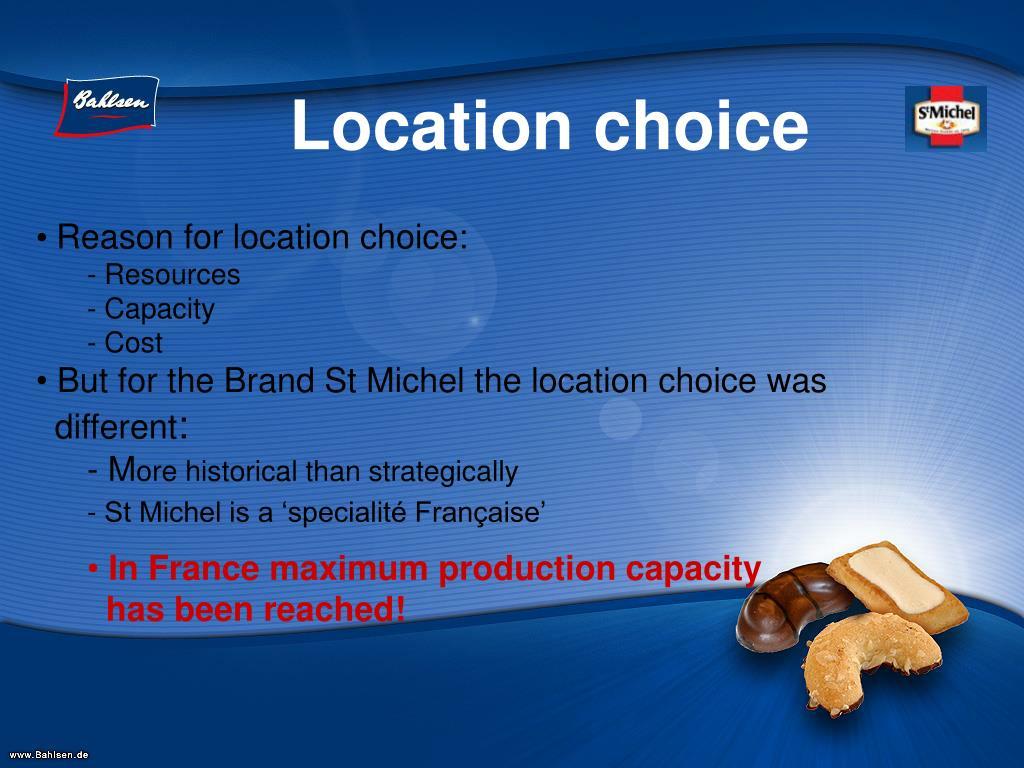 Location choice