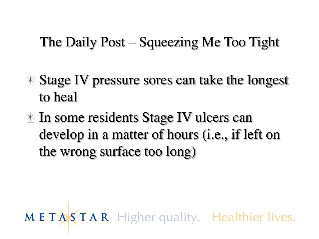 The Daily Post – Squeezing Me Too Tight