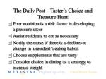 the daily post taster s choice and treasure hunt