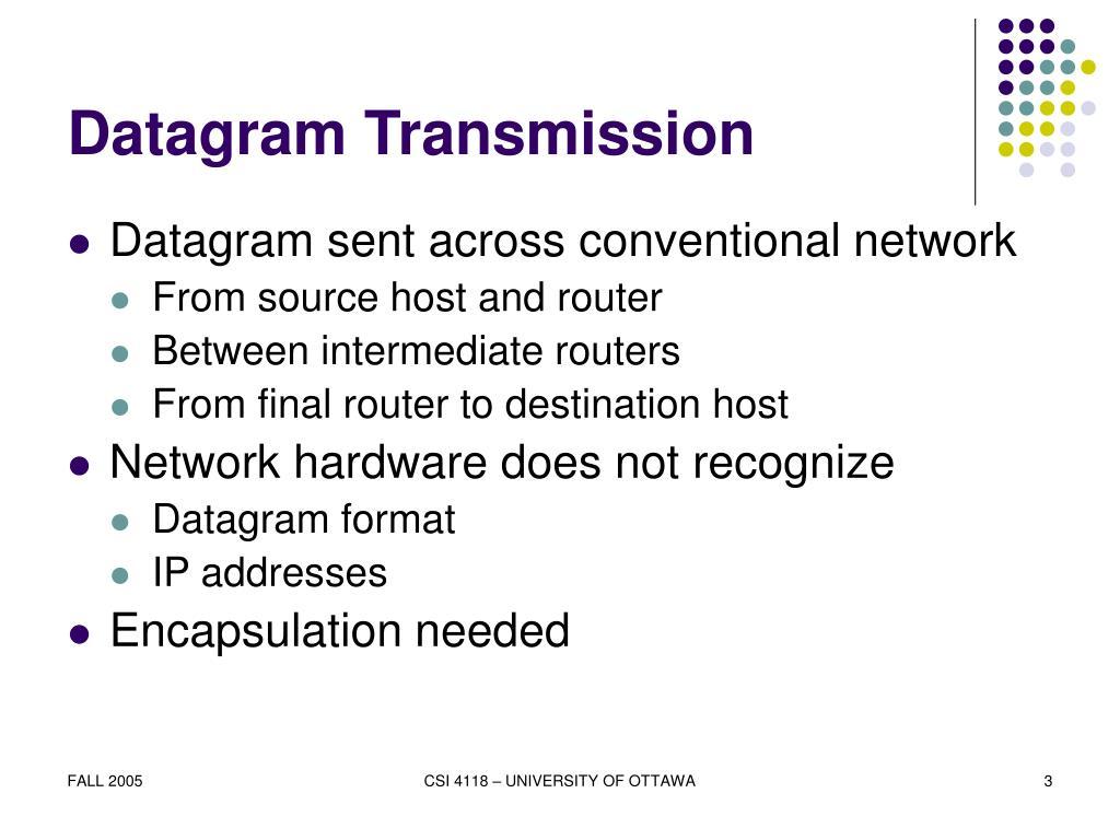 Datagram Transmission