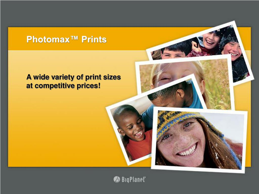 Photomax™ Prints