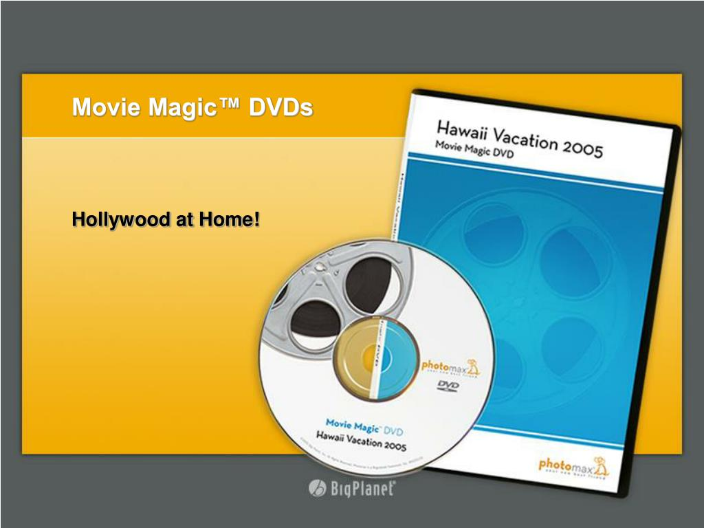Movie Magic™ DVDs