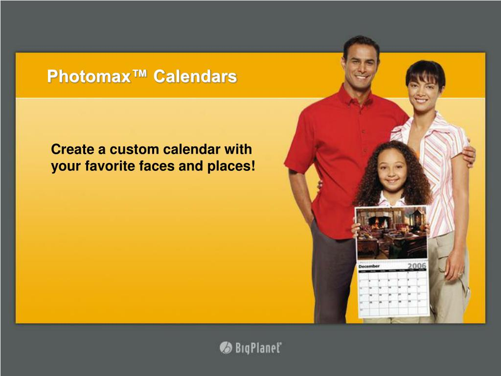 Photomax™ Calendars