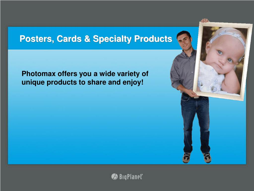Posters, Cards & Specialty Products