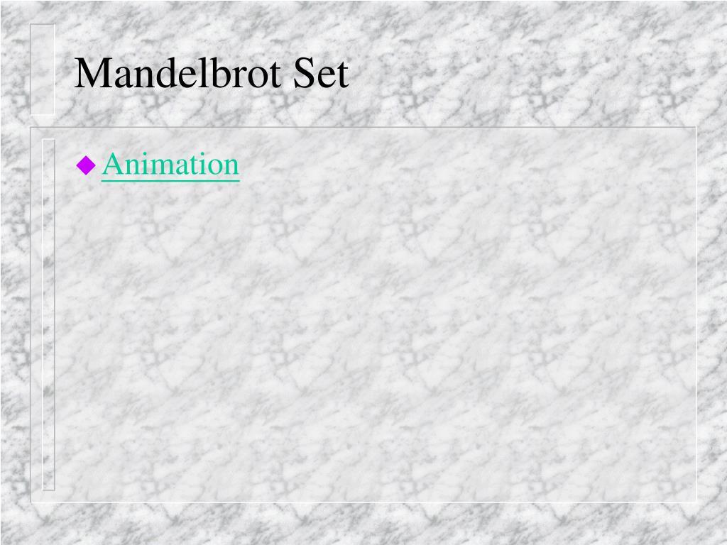 Mandelbrot Set
