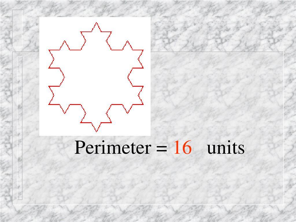 Perimeter =