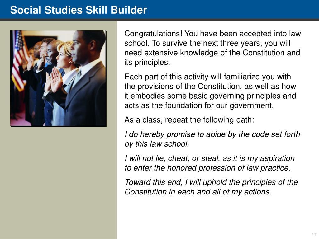 Social Studies Skill Builder