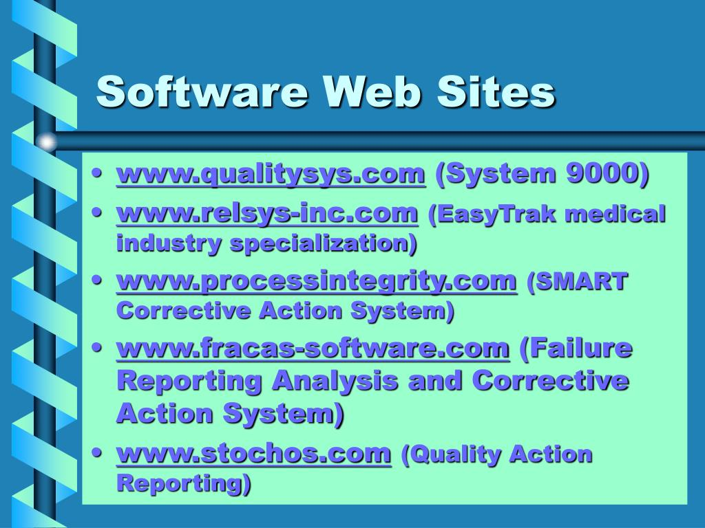 Software Web Sites