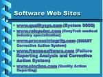 software web sites