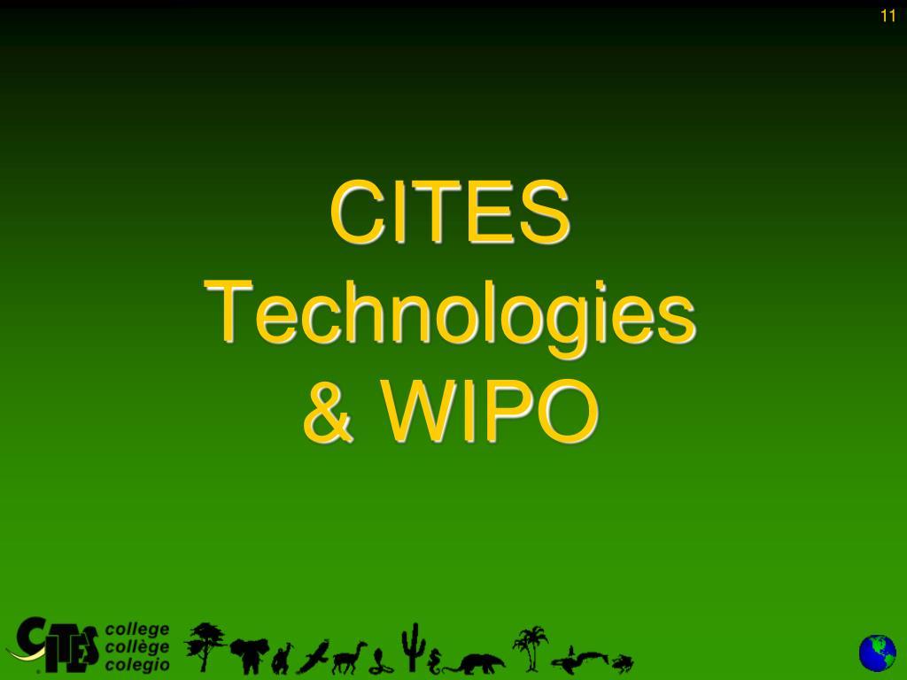 CITES Technologies
