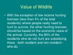 value of wildlife26
