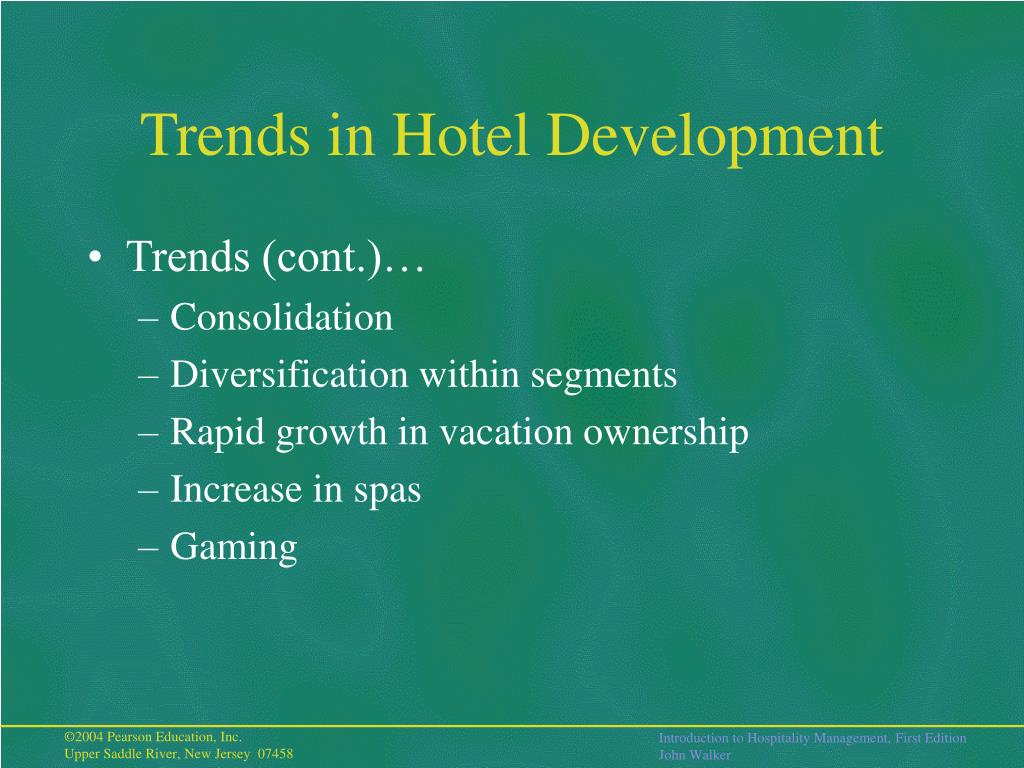 5 important trends shaping today's hotel construction market