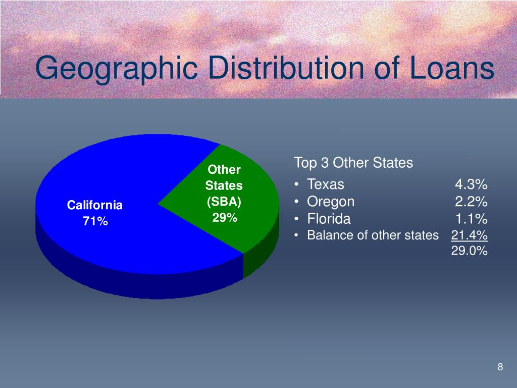 Geographic Distribution of Loans