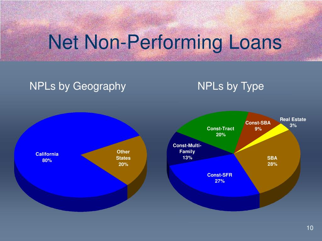 Net Non-Performing Loans