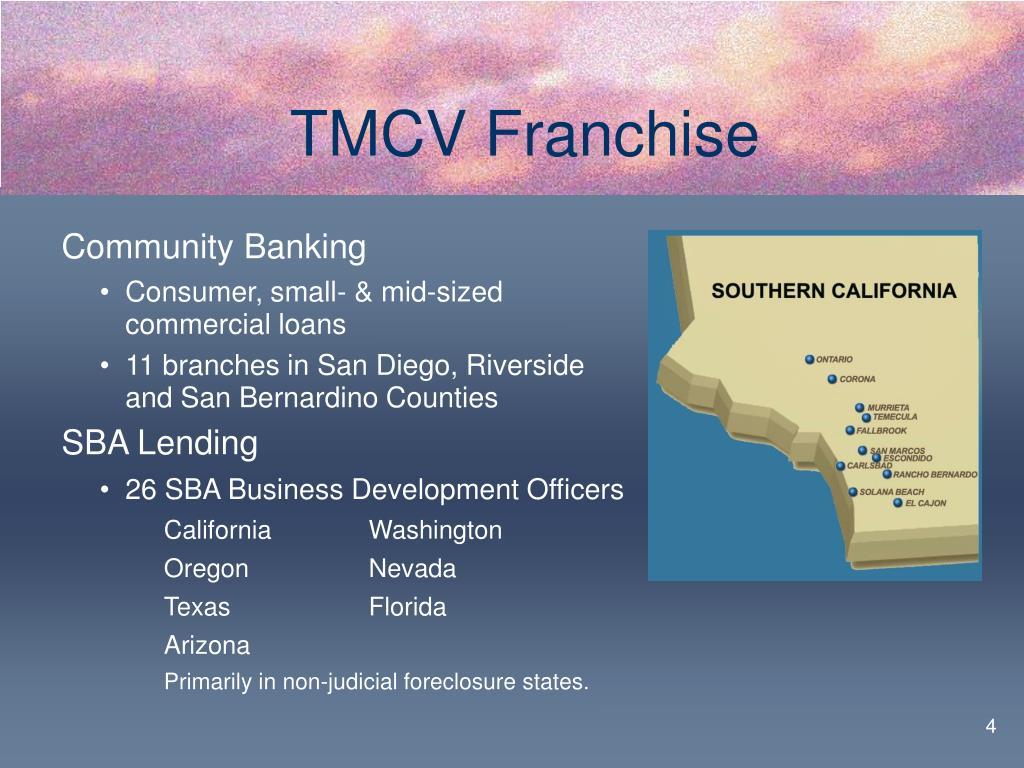 TMCV Franchise