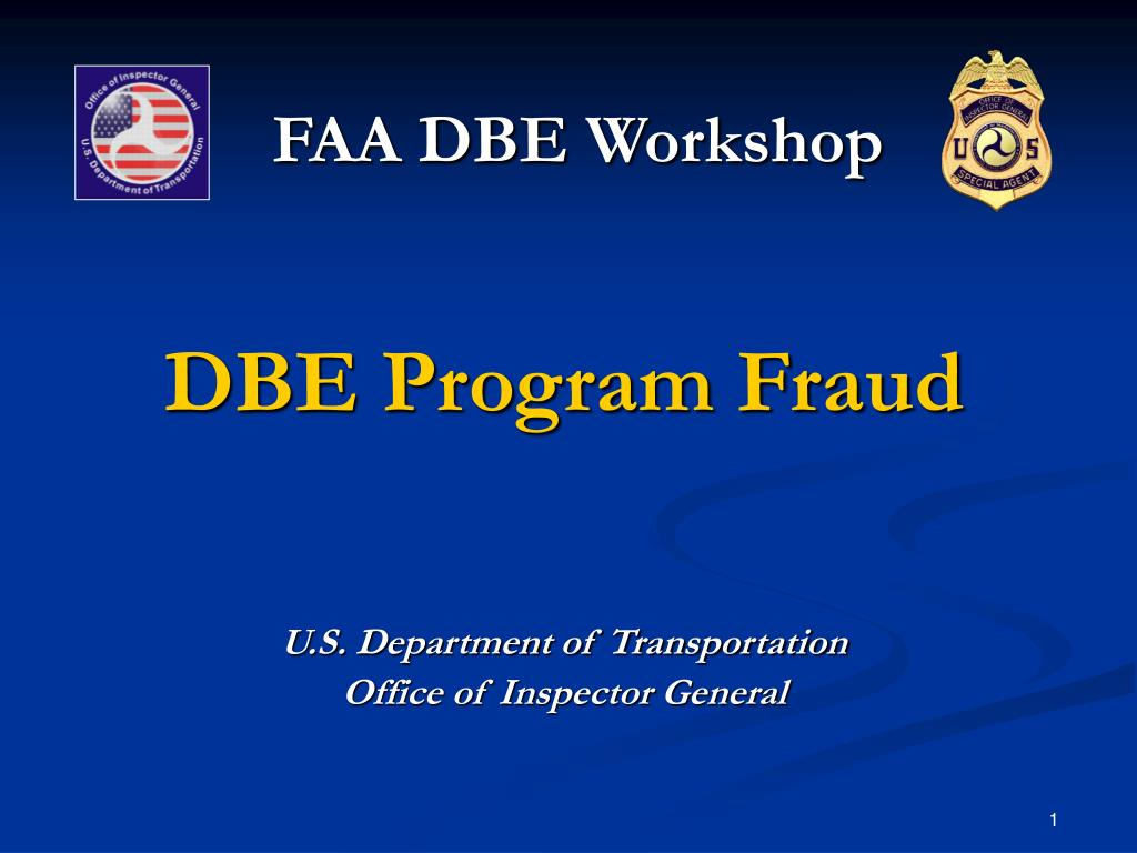 faa dbe workshop