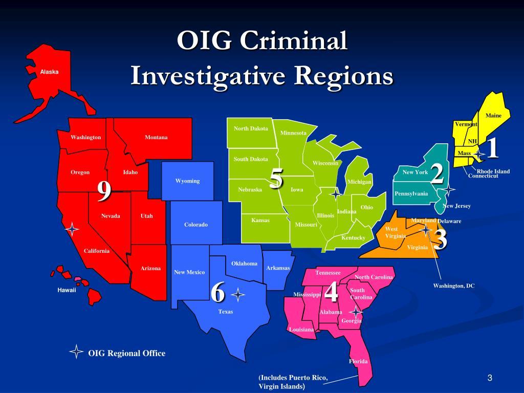 OIG Criminal