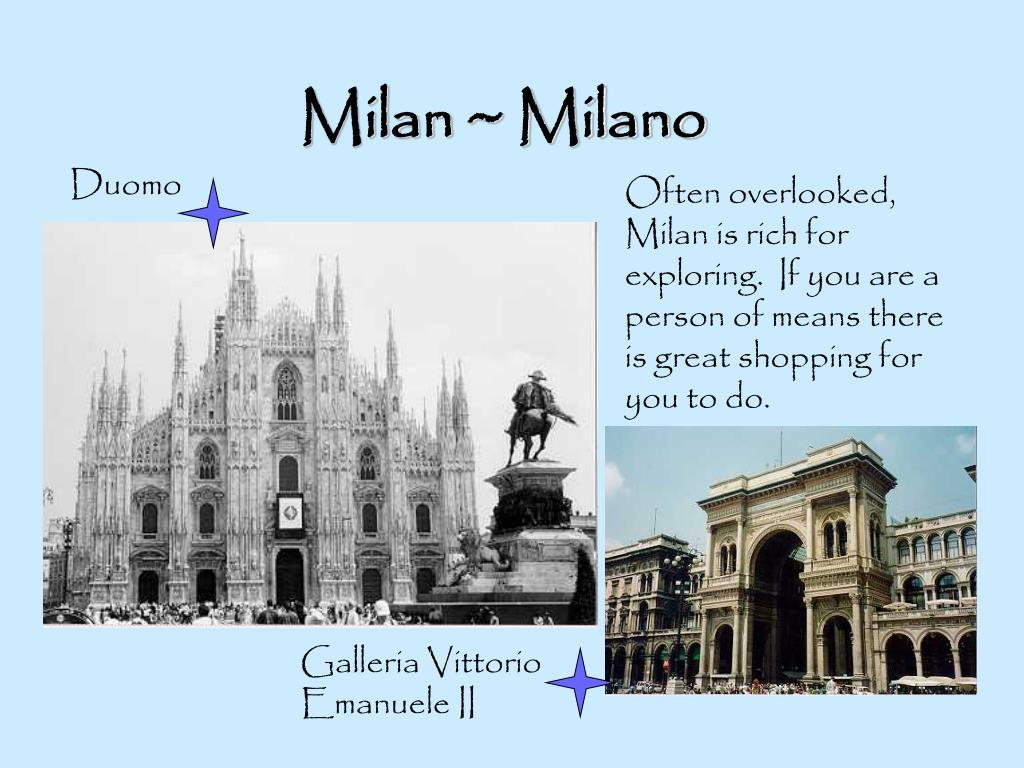 Milan ~ Milano