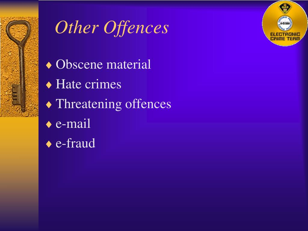 Other Offences