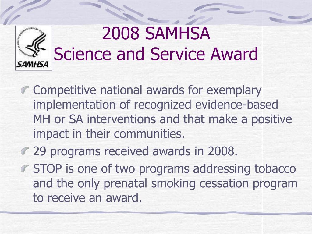 2008 SAMHSA