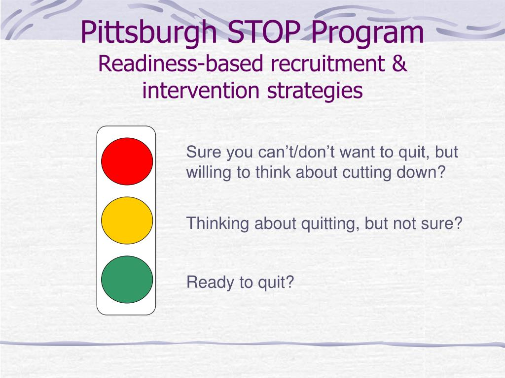 Pittsburgh STOP Program
