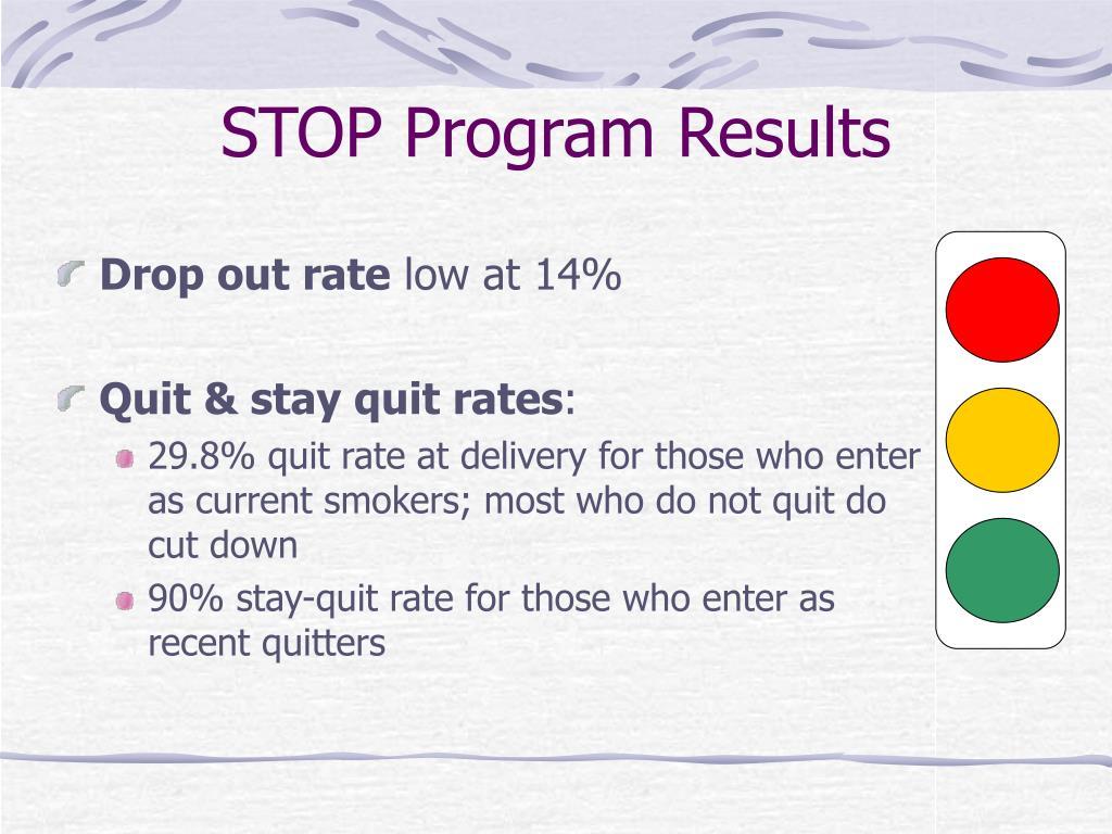 STOP Program Results