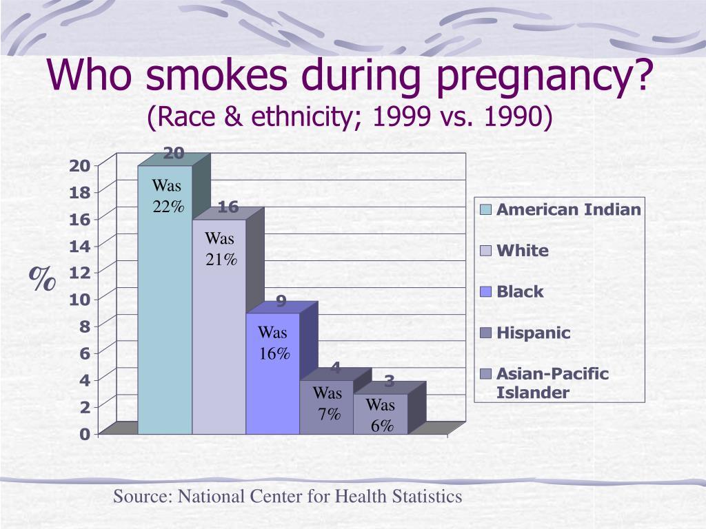 Who smokes during pregnancy?