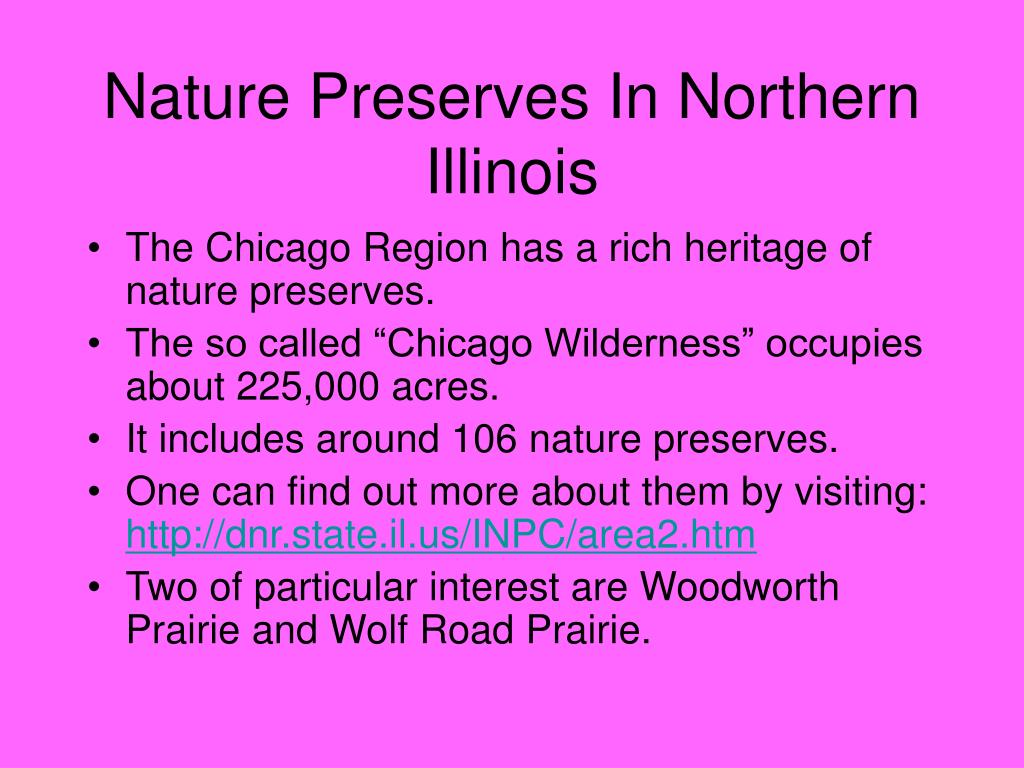 Nature Preserves In Northern Illinois