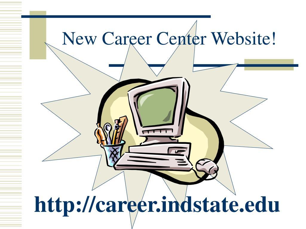 New Career Center Website!
