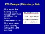 fpc example 720 notes p 204