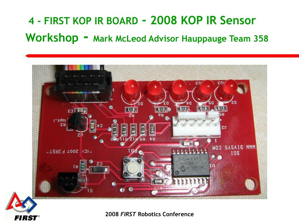 4 - FIRST KOP IR BOARD