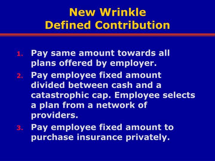 New Wrinkle