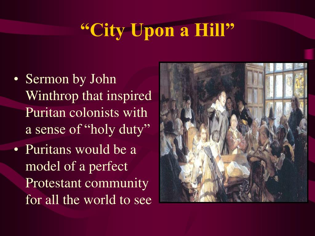 city upon a hill essay American exceptionalism, he insists upon the essays on the rhetoric of exceptionalism in american history, from john winthrop's city upon a hill.