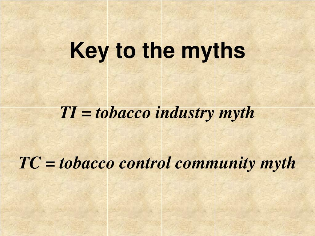 Key to the myths