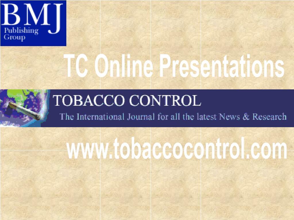 TC Online Presentations
