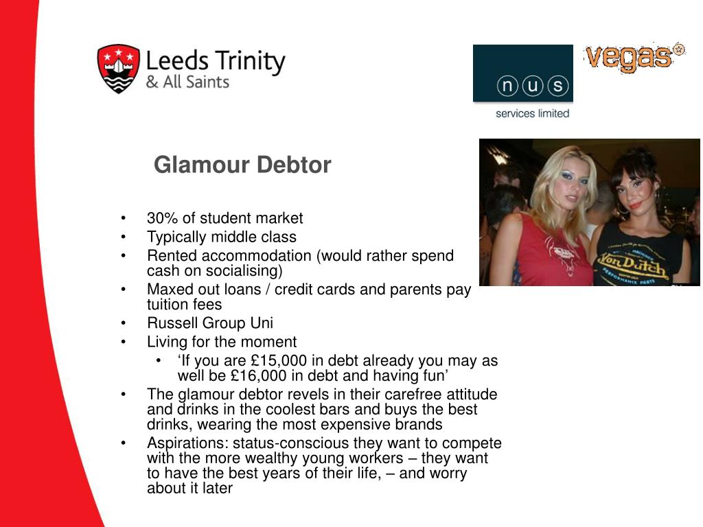 Glamour Debtor