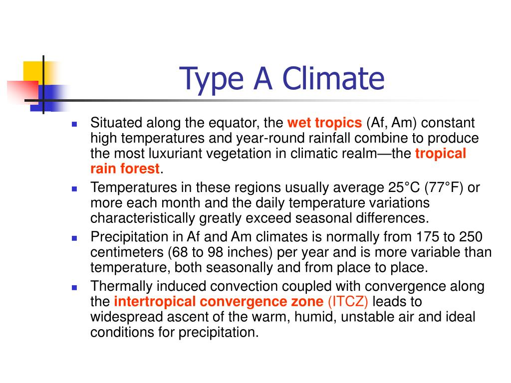 Type A Climate