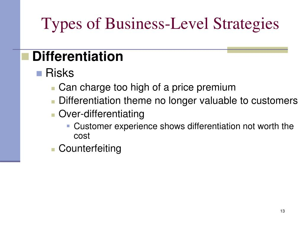 types of business strategies Reading about the different types of business plans is a good jumping-off point in the process of creating a business plan if you're looking for more information about business plans and how to write them, you'll find our sample business plan library and our guide to writing a detailed business plan to be helpful resources.