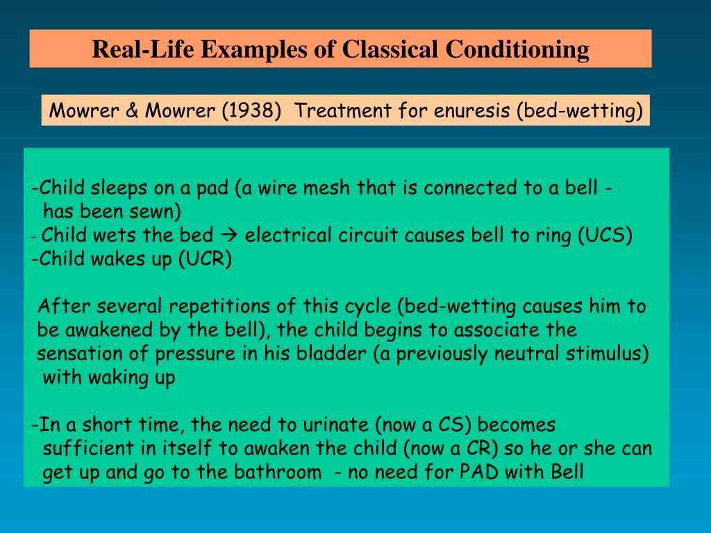 Real-Life Examples of Classical Conditioning