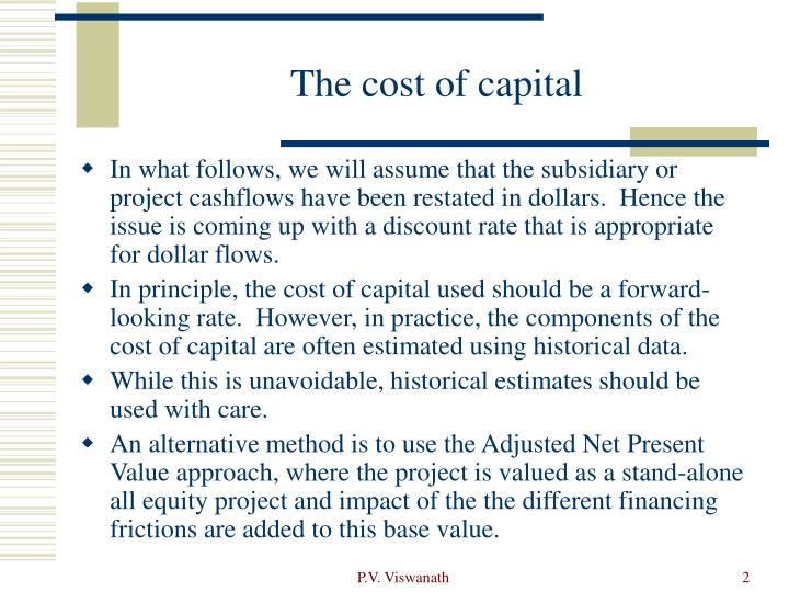 The cost of capital l.jpg