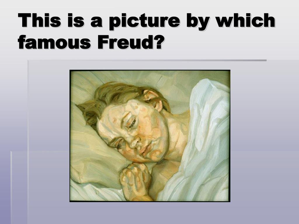 This is a picture by which famous Freud?