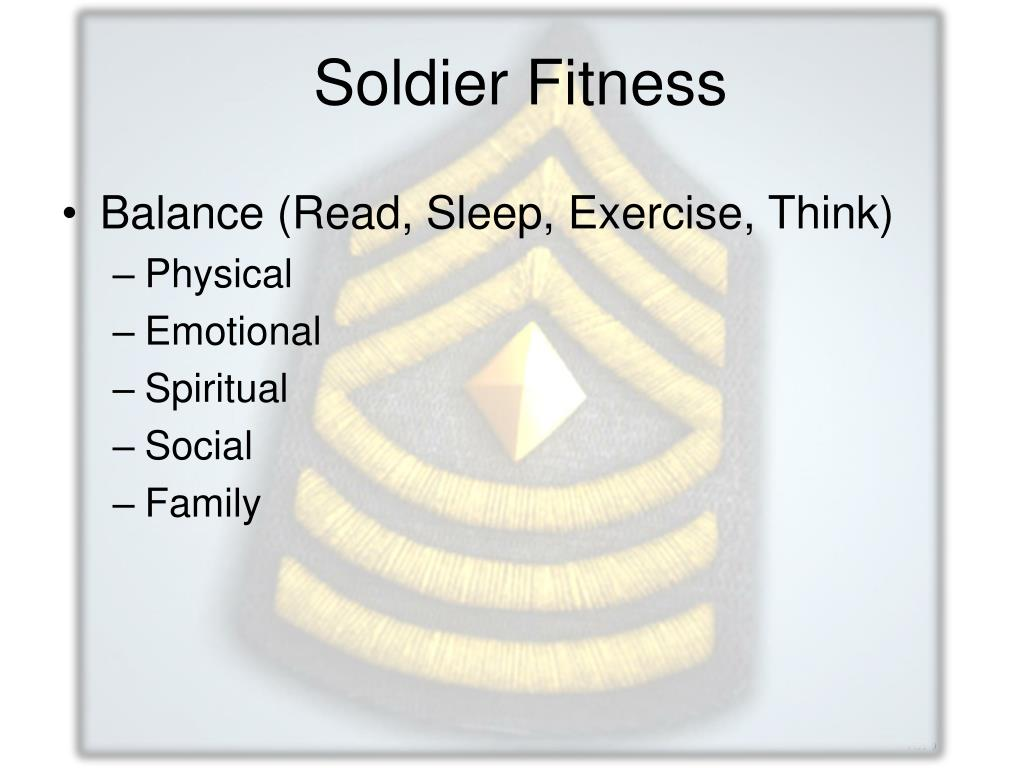 Soldier Fitness